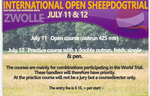 Results Zwols Open 11 july